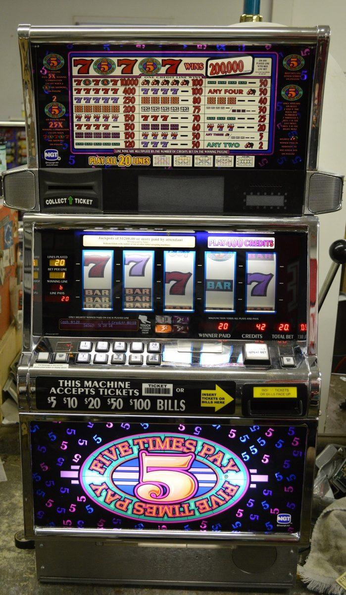 Igt slot machine parts