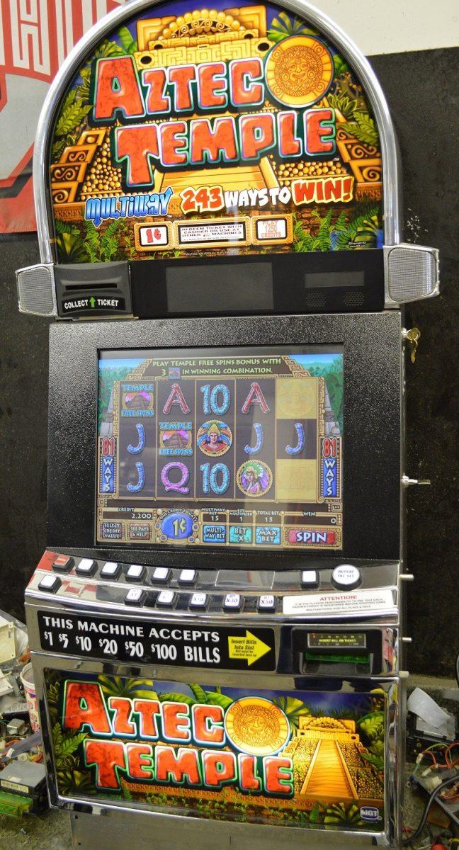 Aztec Temple Slot Machine Game
