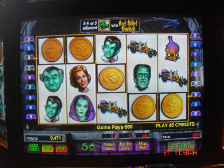Play munsters slot machine online