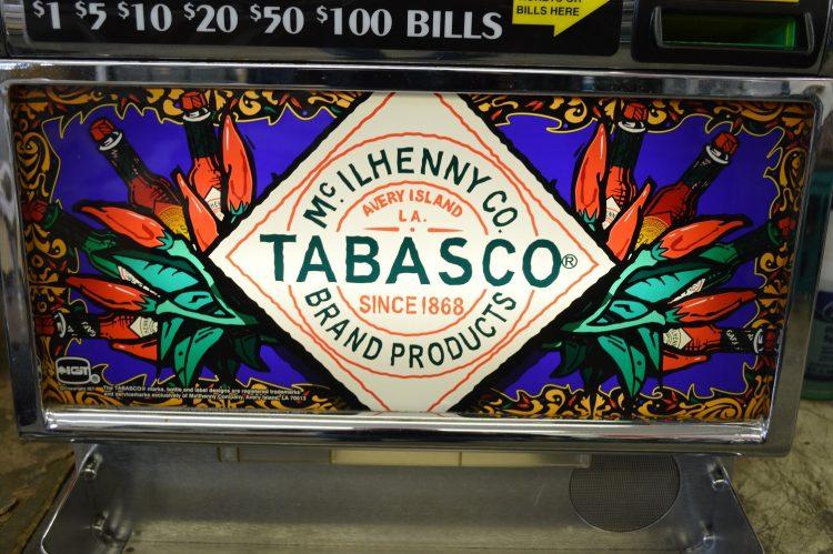 tabasco slot machine
