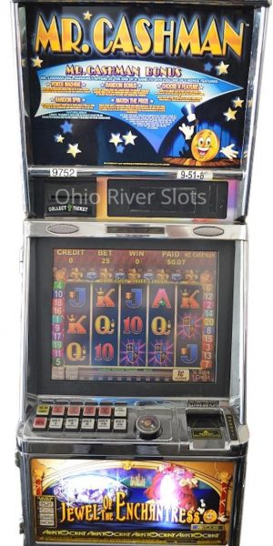 Mr. Cashman Jewel of the Enchantress slot machine