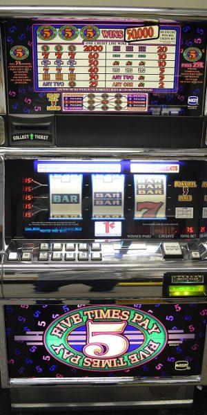 5x pay multi line slot machine