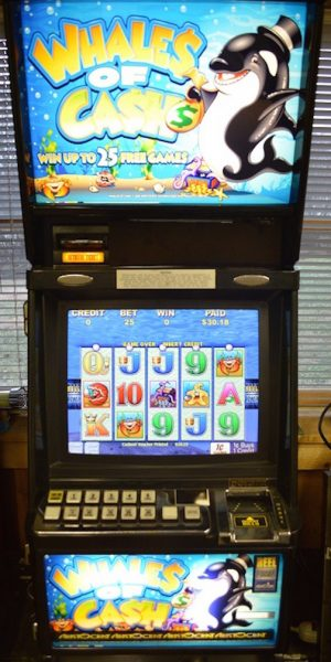 Whales of Cash slot machine