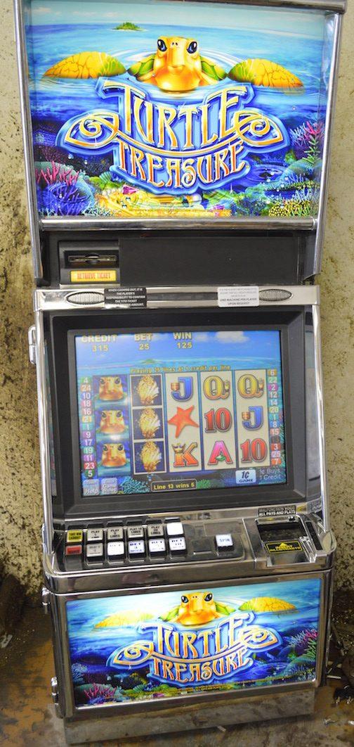 Turtle Treasure slot machine