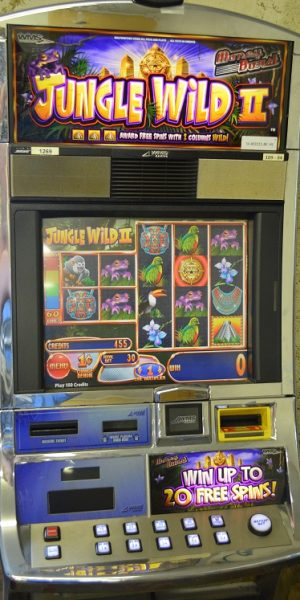 Jungle Wild II slot machine