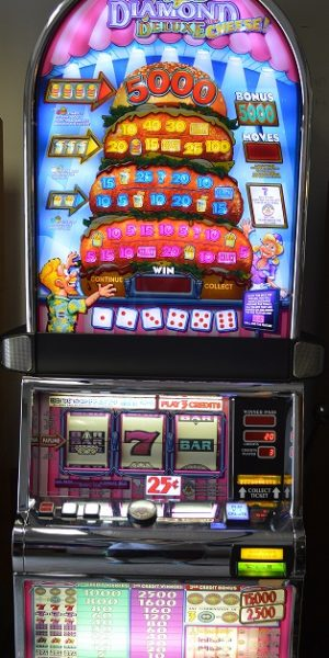 Double Triple Diamond Deluxe with Cheese slot machine