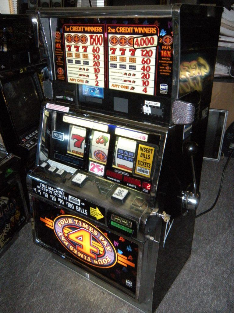 Slot machine 2x3x4x5x