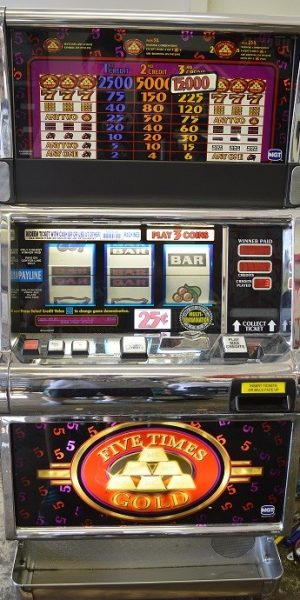 5x Gold slot machine
