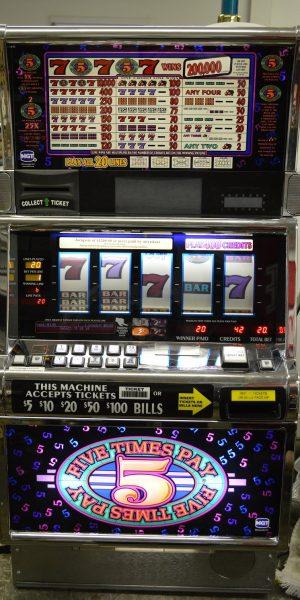 5x Pay slot machine