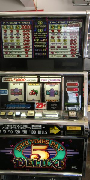 5X Pay Deluxe slot machine