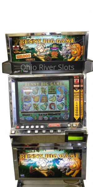 Benny Big Game slot machine