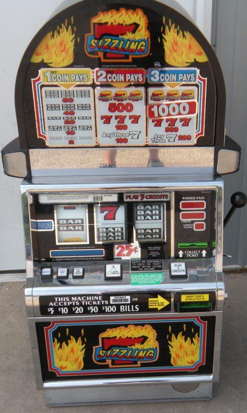 Sizzling 7 slot machine