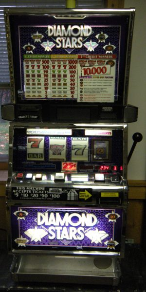 Diamond Stars slot machine