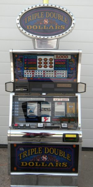 Triple Double Dollars slot machine