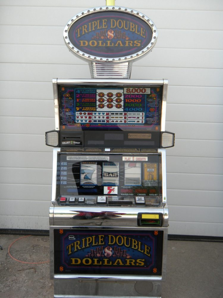 triple double dollars 5 reel ohio river slots. Black Bedroom Furniture Sets. Home Design Ideas