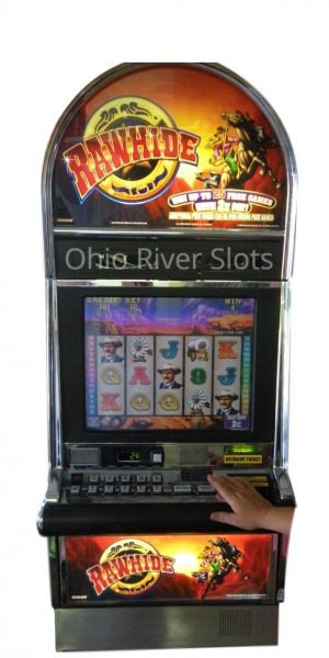 Rawhide slot machine