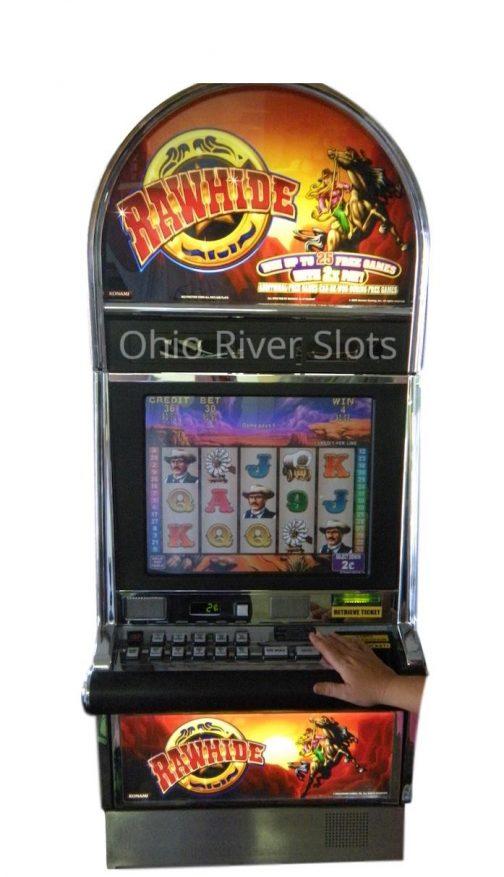 Rawhide slot machine
