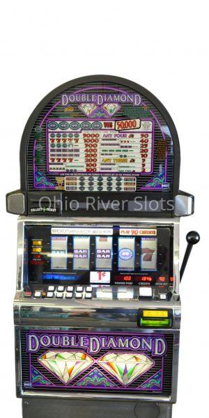 Double Diamond Free spin slot machine