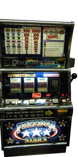 Freedom Stars slot machine