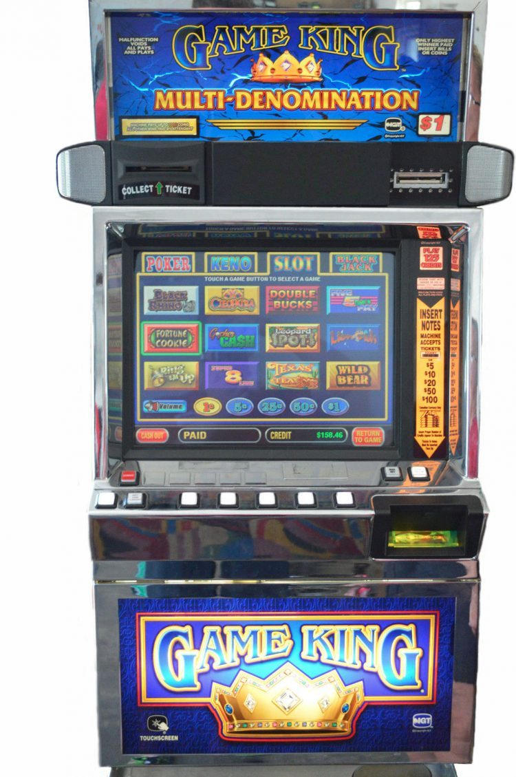 IGT Game King 6.0 Poker Machine
