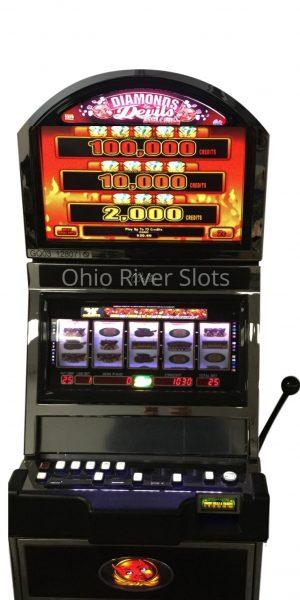 Diamonds and Devils slot machine