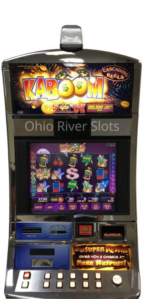 Kaboom slot machine