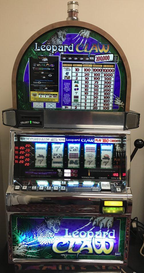 Leopard Claw slot machine