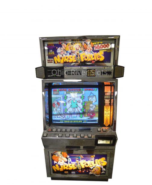 Nurse Follies slot machine