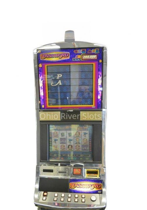 Password slot machine