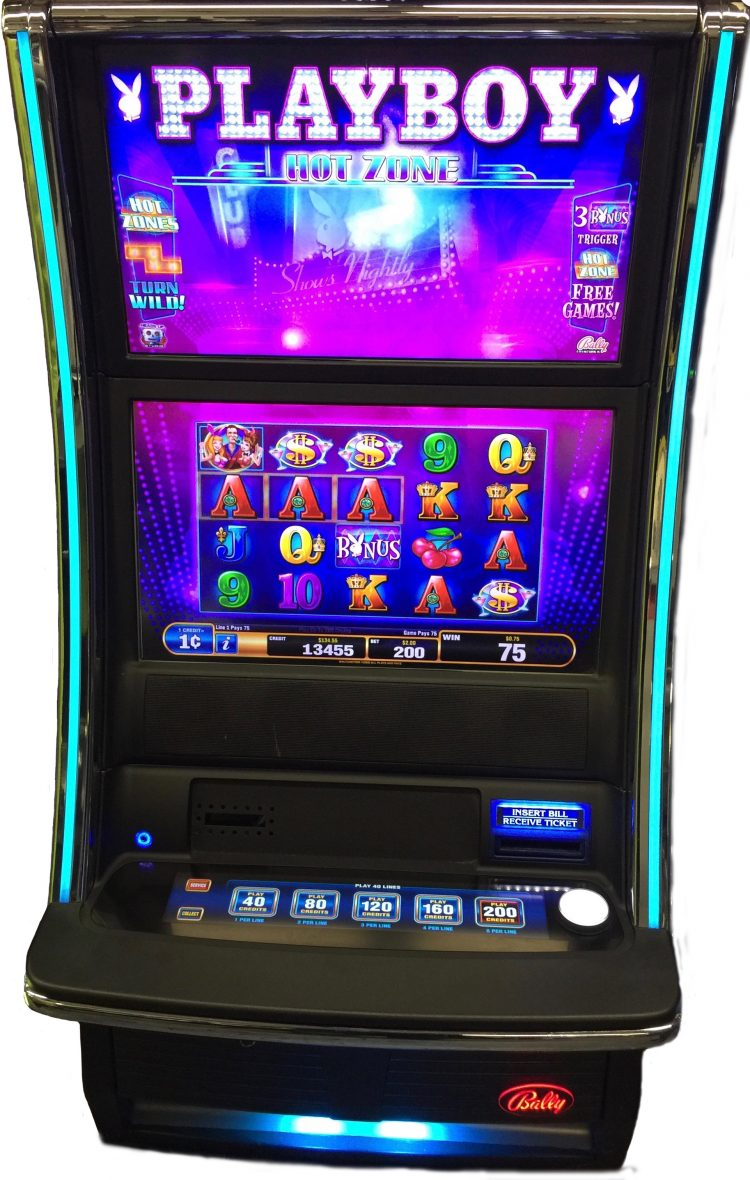 Bally Alpha Pro 2 Playboy Hot Zone