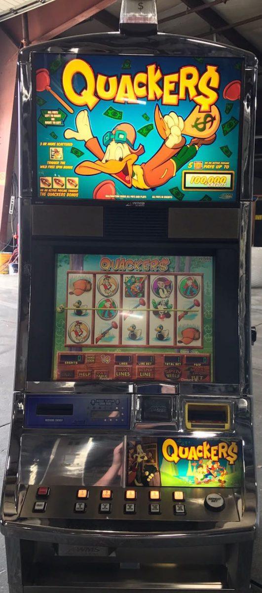 Duck slot machine
