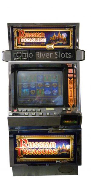 Russian Treasures slot machine