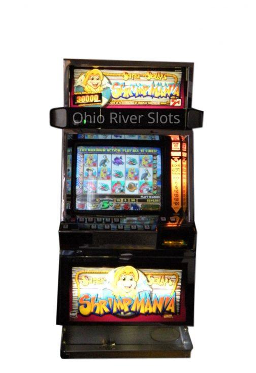 Super Sally Shrimpmania slot machine