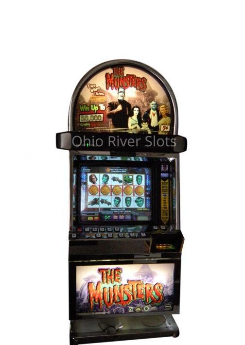 The Munsters slot machine