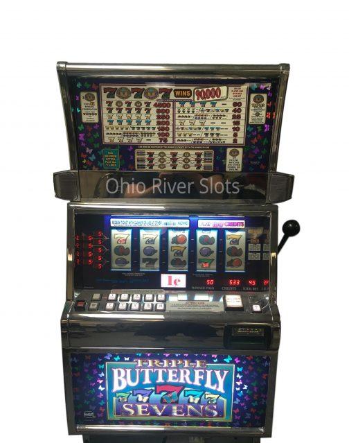 Triple Butterfly 7s slot machine