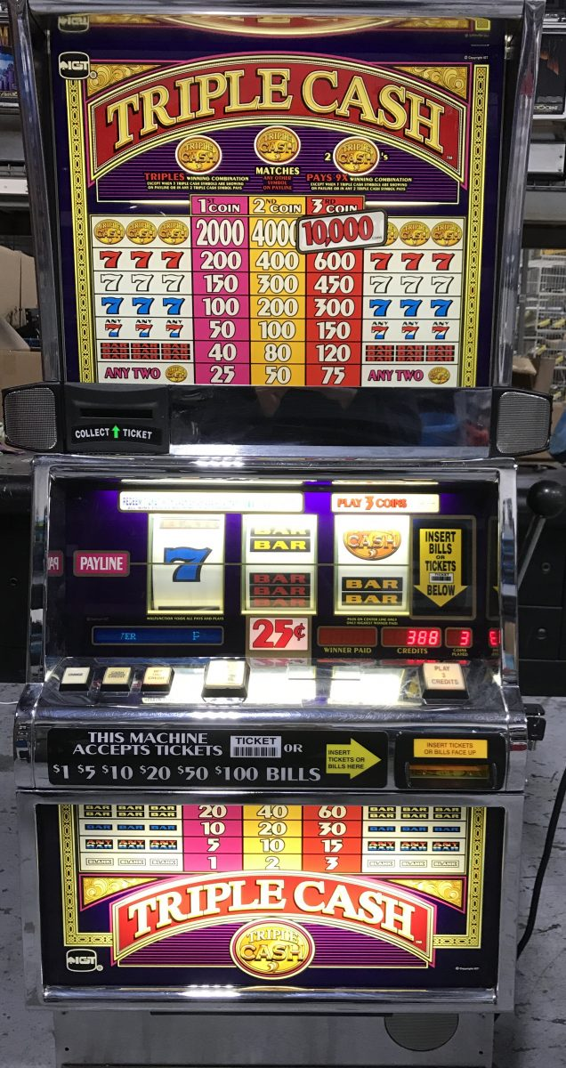 Triple cash slot machine online