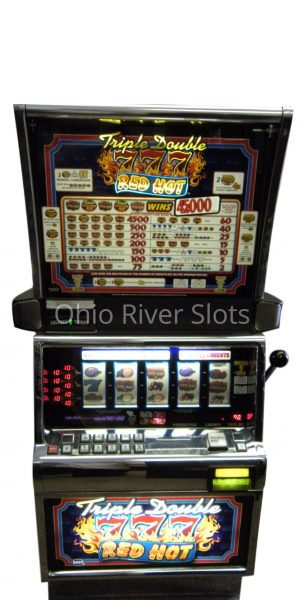 Triple Double Red Hot 7s slot machine