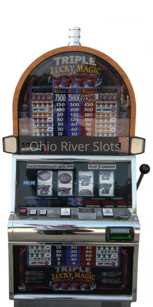 Triple Lucky Magic 7s slot machine