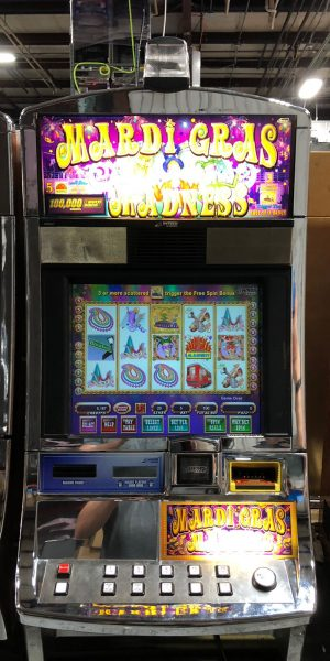 Mardi Gras Madness slot machine