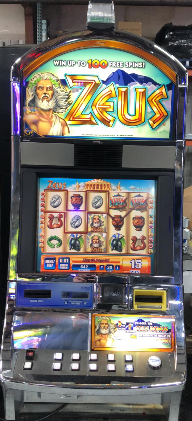 Image Result For Slot Machines With Zeus