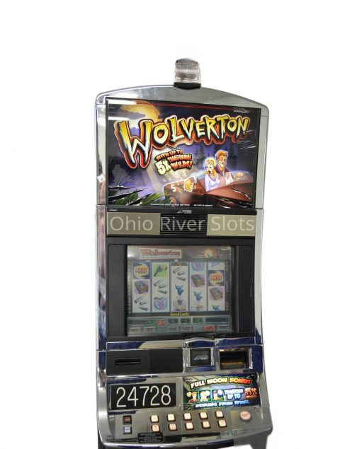 Wolverton slot machine