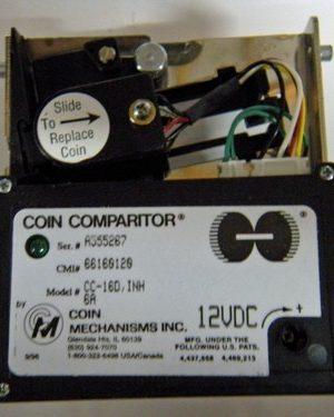 Coin comparitor 12v