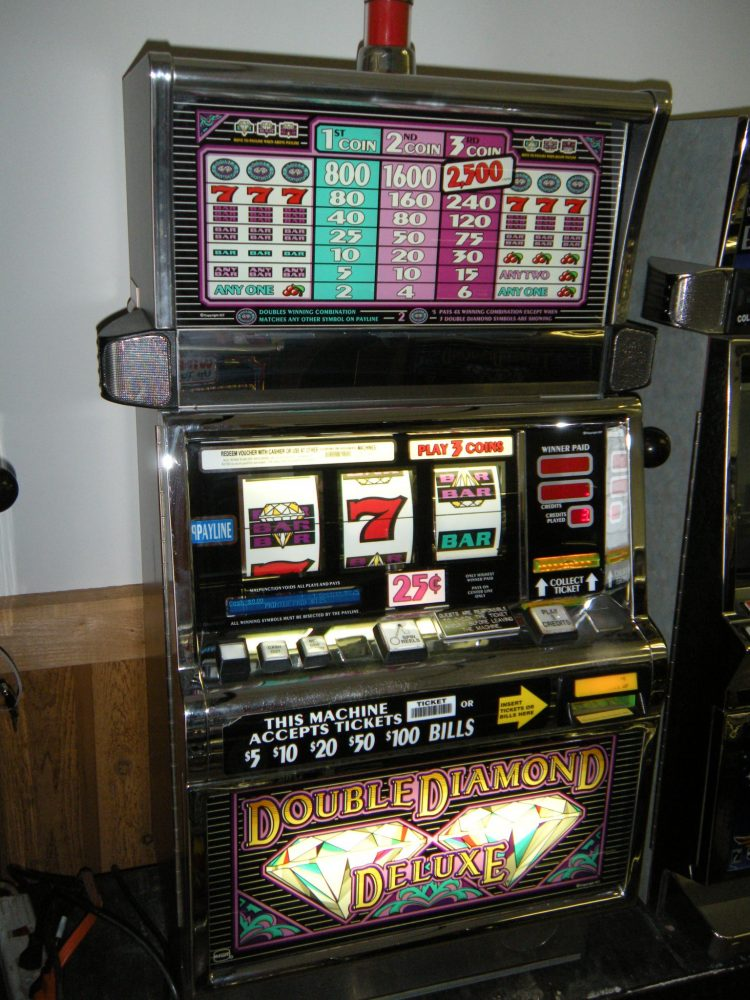 double diamond deluxe slot machine repair