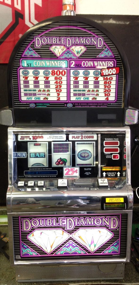 Double Diamond Slot Machine Odds