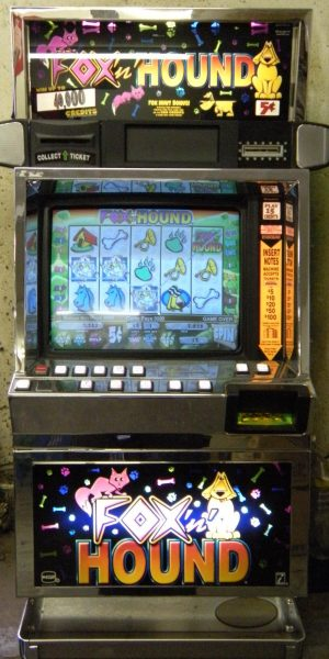 Fox 'n Hound slot machine