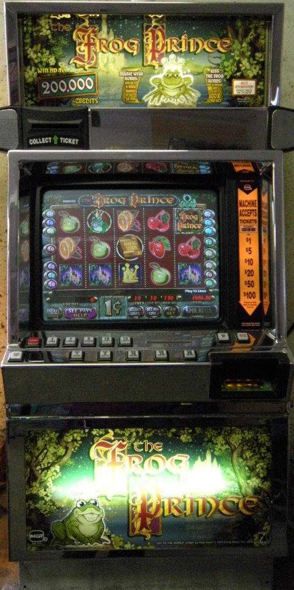 frog slot machine