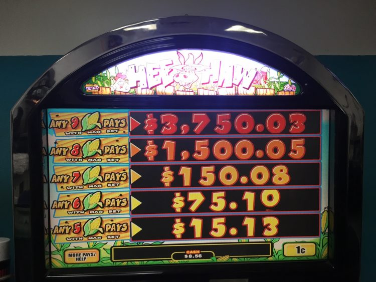hee haw slot machine for sale