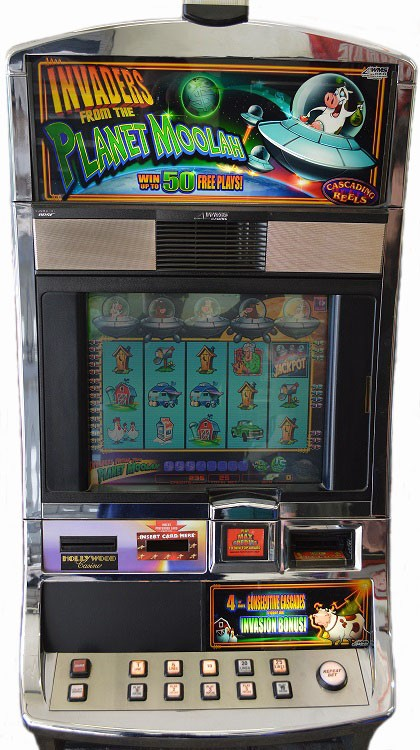 invaders planet moolah slot machine