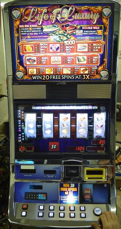 of luxury slot machine