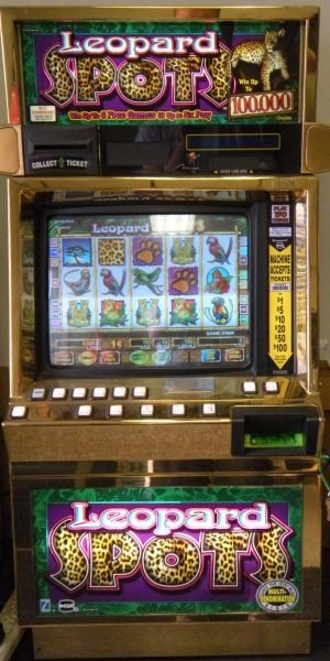 Leopard Spots slot machine